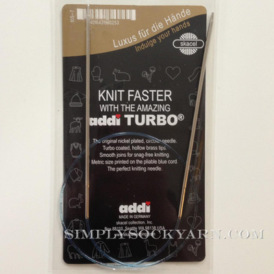 "Addi Turbo 40"" circ US 5"