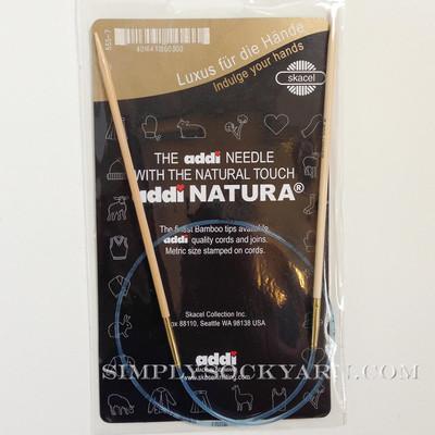 "Addi Natura 40"" Circ US 5 -"