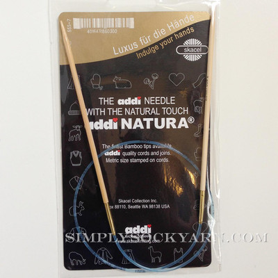 "Addi Natura 40"" Circ US 7 -"
