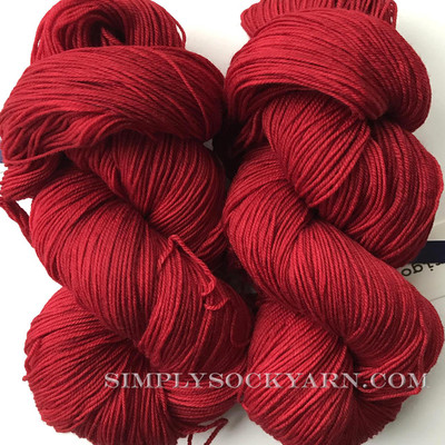 Malabrigo Sock 611 Ravelry Red -