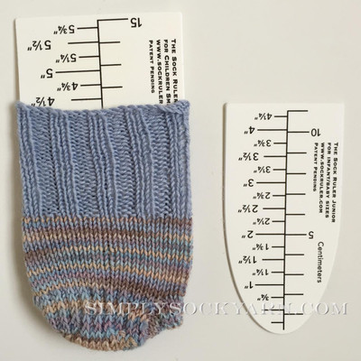 Sock Ruler Junior