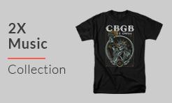 2X Music T-Shirts