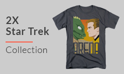 2X Star Trek T-Shirts