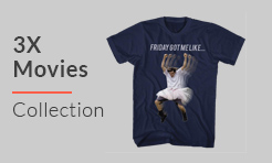 3X Movies T-Shirt