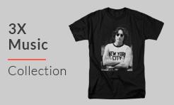 3X Music T-Shirts