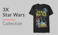 2X Star Wars T-Shirts
