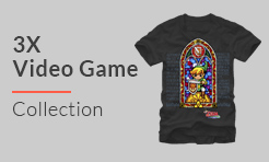 3X Video Games T-Shirts