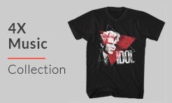 4X Music T-Shirts