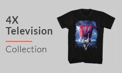 4X Television T-Shirts