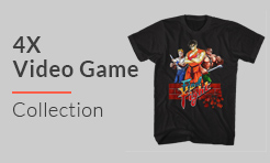 4X Video Games T-Shirts