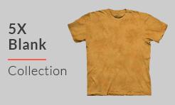 5X Blank T-shirts