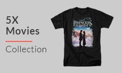 5X Movies T-Shirts