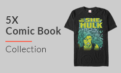 5X Comic T-Shirts