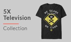 5X Television T-Shirts