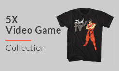 5X Video Games T-Shirts