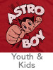 Thumbnail for the Astro Boy Youth and Kids T-Shirt category