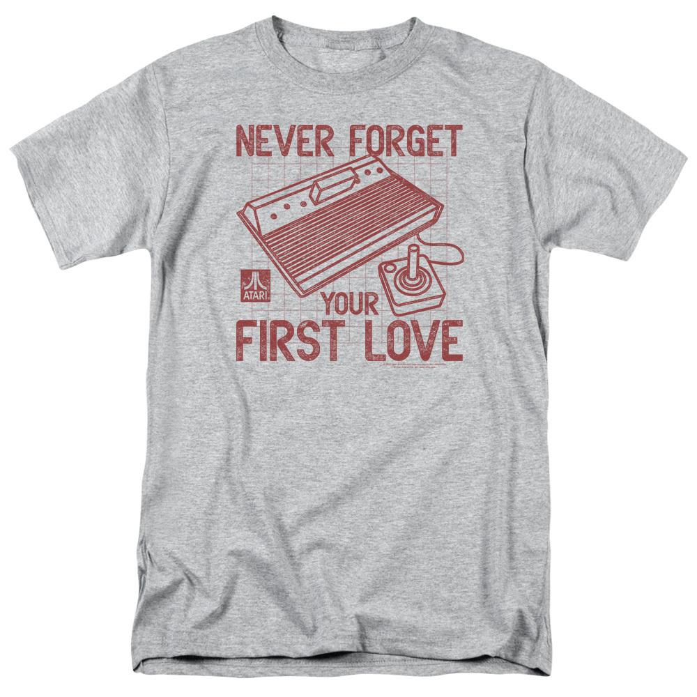 ca9544981 Atari T-Shirt - Never Forget Your First Love - NerdKungFu.com