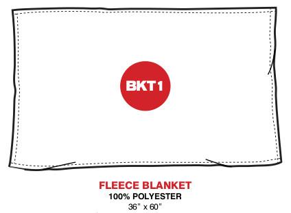 Jurassic Park Fleece Blanket - Slash Logo UNI919-BKT1
