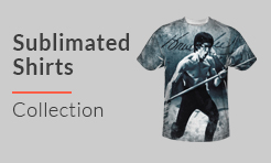 Bruce Lee Sublimated Shirts
