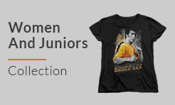 Bruce Lee Women and Juniors T Shirts