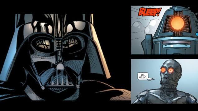 Review Star Wars Comics Darth Vader 001 Nerdkungfu
