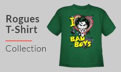 DC Comic Rogues t-shirt