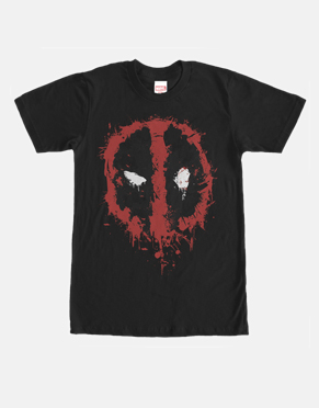 Deadpool Splatter Icon T-Shirt
