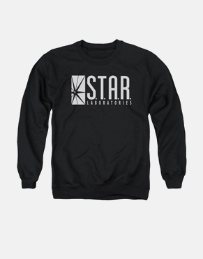 FLASH TV SHOW CREWNECK - S.T.A.R. LABORATORIES