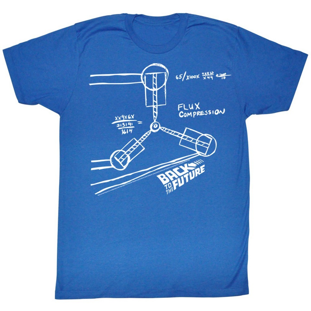 Flux Capacitor Sketch T-Shirt