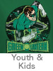 Thumbnail Image for the Green Lantern Youth and Kids T-Shirt category