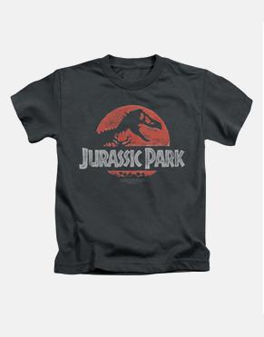 Jurassic Park Kids T-Shirt - Faded Logo