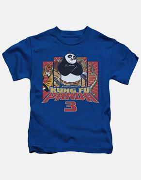 Kung Fu Panda Kids T-Shirt - Kung Furry