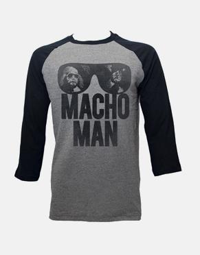 Macho Man Long Sleeve T-Shirt