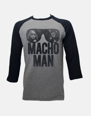 Macho Man Long Sleeve T-Shirt