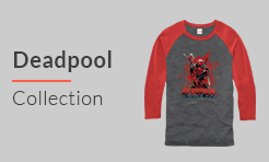 Deadpool t-shirts