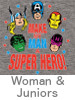 Thumbnail Image for the Marvel Women T-Shirt category