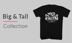 Men's big and tall apparel