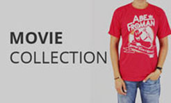 Movie and film t-shirt collection