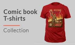 Plus Size Comic Book T-shirts