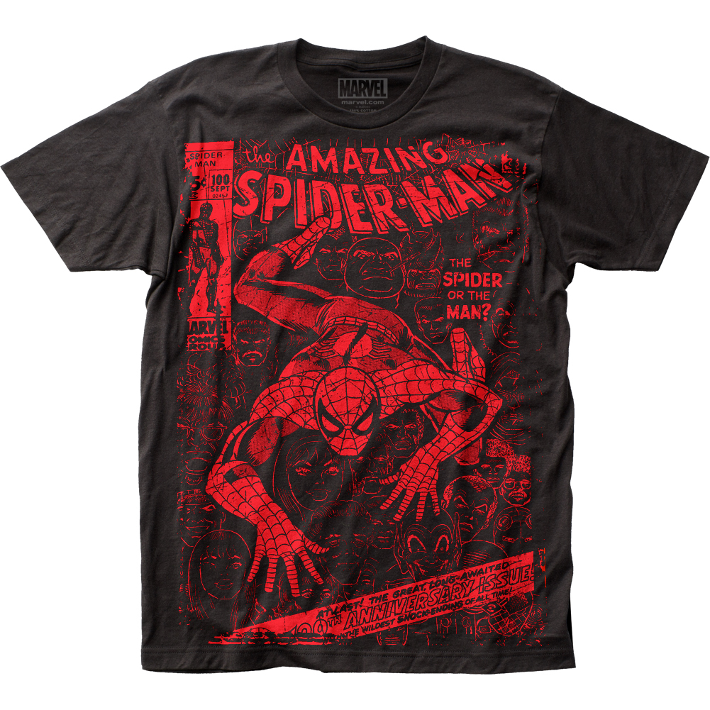 Thumbnail for the Spider-Man T-Shirt category