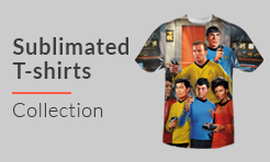 Star Trek Sublimated T-shirts