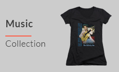 Women and Juniors Music T-Shirts