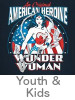 Thumbnail Image for the Wonder Woman Youth and Kids T-shirt category