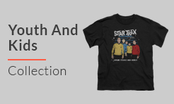 Star Trek Youth And Kids t-shirts