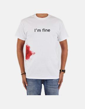 Zombie T-Shirt - I'm Fine