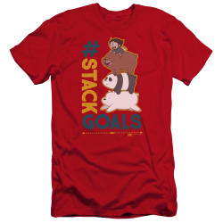Image for We Bare Bears Premium Canvas Premium Shirt - Stack Goals