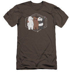Image for We Bare Bears Premium Canvas Premium Shirt - Selfie