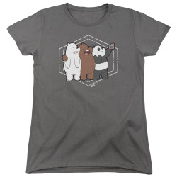 Image for We Bare Bears Womans T-Shirt - Selfie
