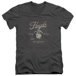 Image for Andy Griffith Show V Neck T-Shirt - Mayberry Floyds