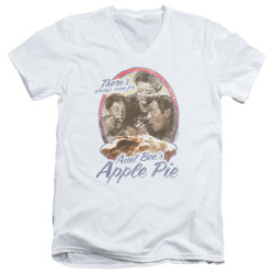 Image for Andy Griffith Show V Neck T-Shirt - Apple Pie